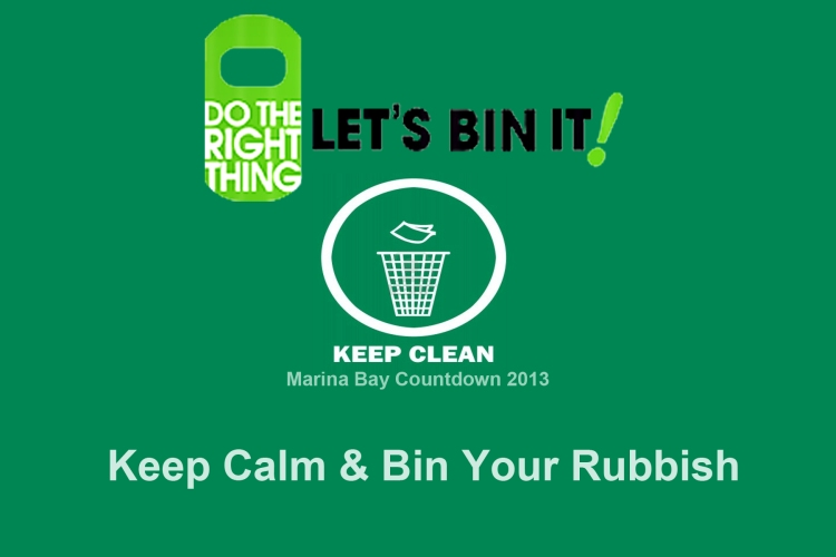 Bin your trash