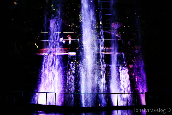 Waterfall @ Night 2