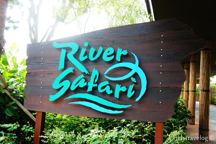 River Safari Signage