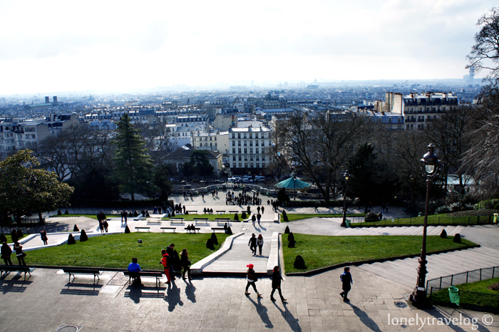 Montmartre from top
