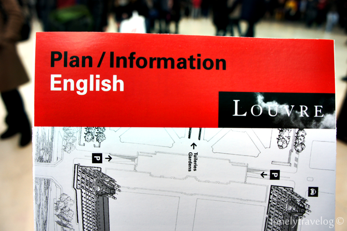 Louvre Map