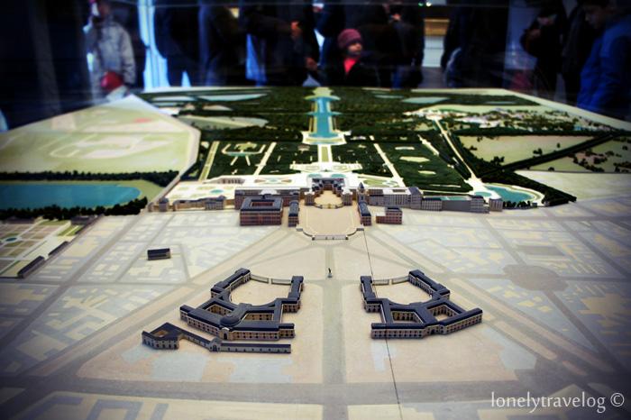 Versailles Layout