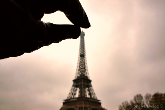 Bateux-Mouches - Eiffel Tower 2