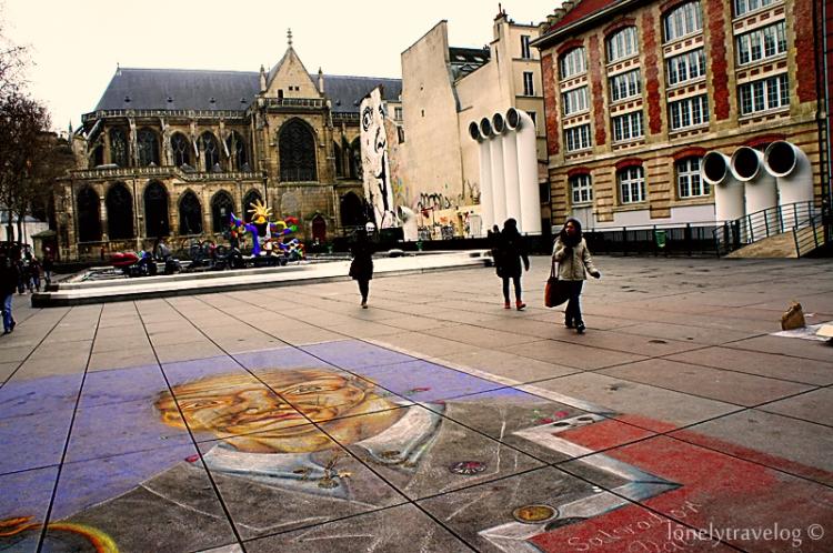 Centre Pompidou Square