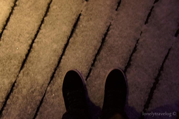 Montparnasse - Snow