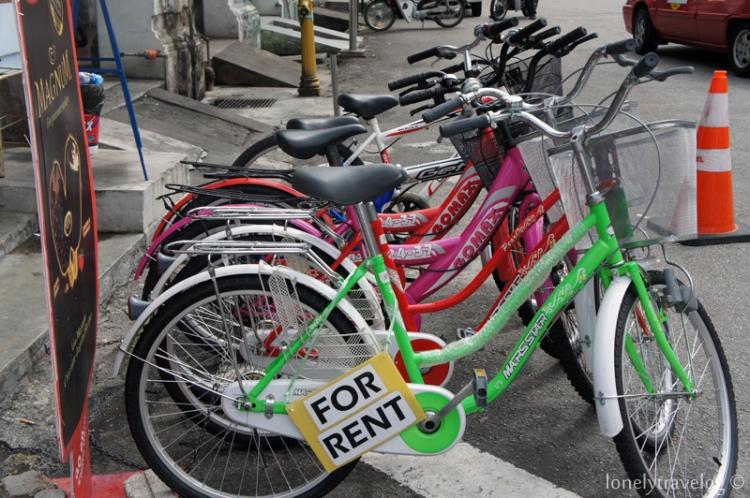 Renting Bicycle