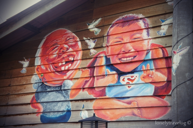 Murals Chew Jetty
