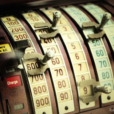Vintage Cashier