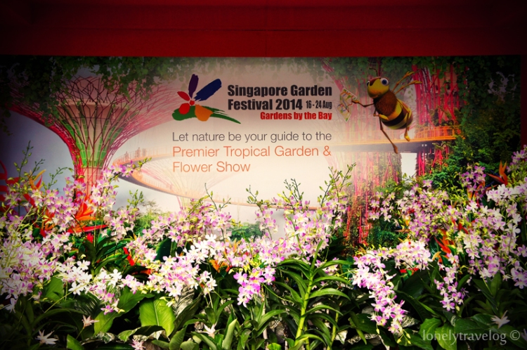 Garden By The Bay Flower Festival singapore garden festival 2014 – lonely travelog