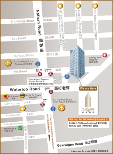location map - CityView