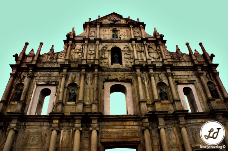 The Ruins of St. Paul's