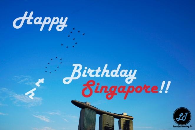 Happy 50th singapore