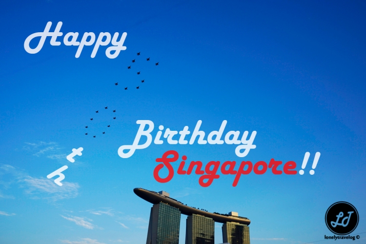 Happy 50th singapore