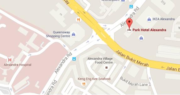 park alexandra map