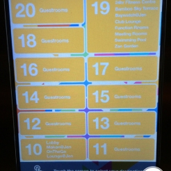 Hotel Jen - Touch Screen lift button