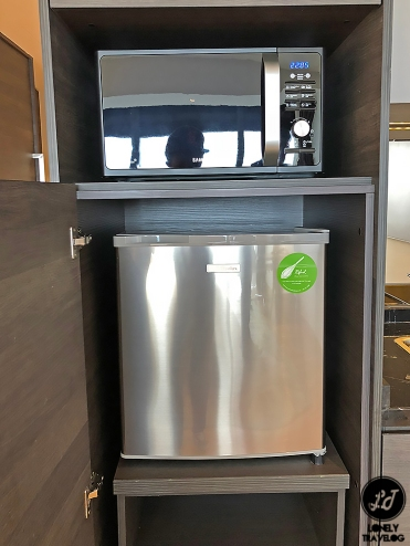 Microwave and Minibar