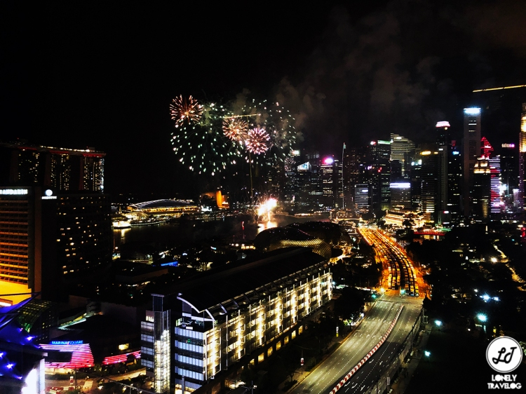 JW Marriott Hotel Singapore South Beach [Fireworks - F1 and NDP]]