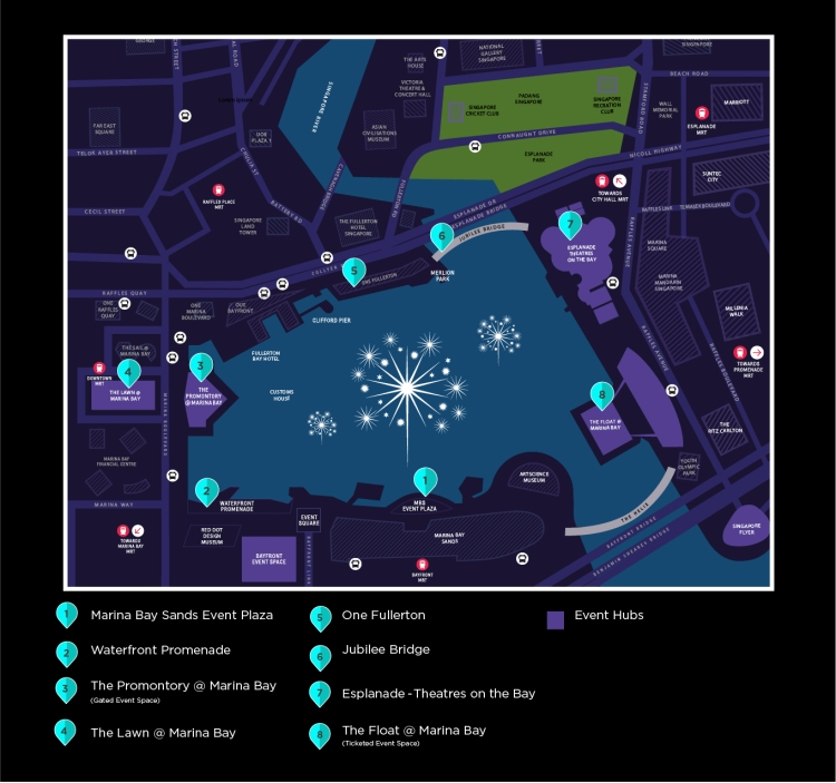 SG Fireworks vantage-point-map